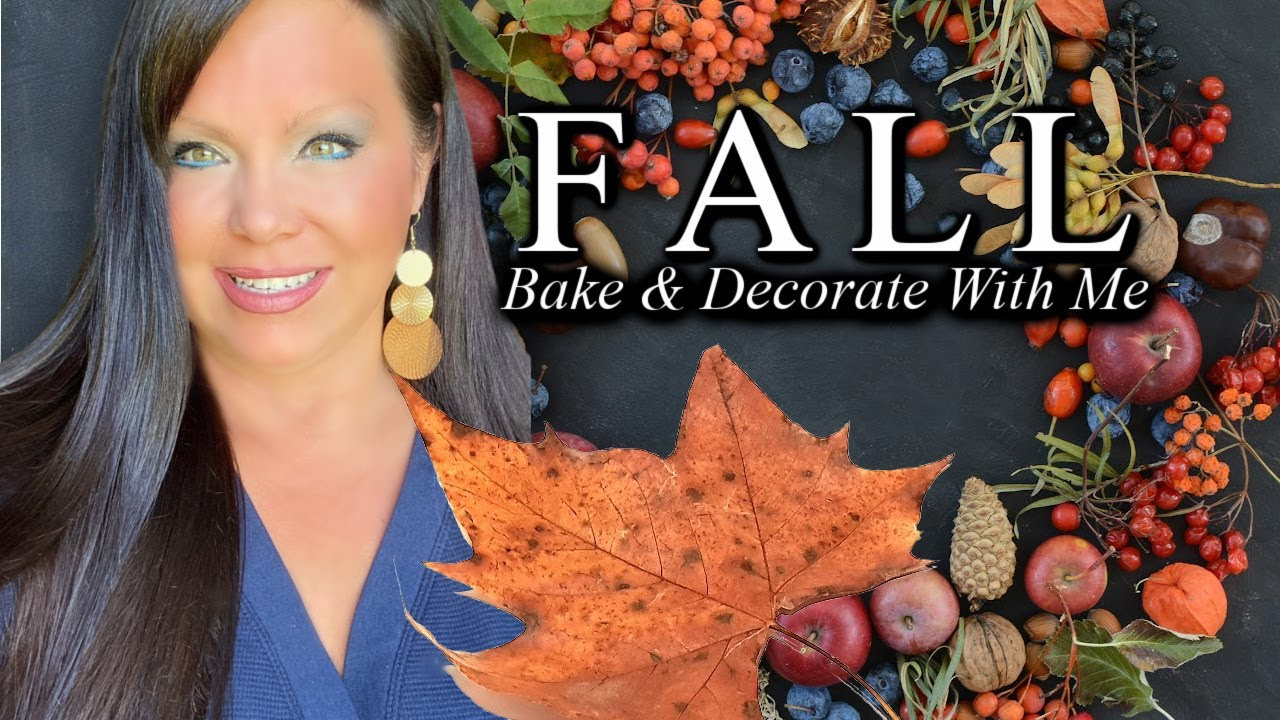 Fall Bake And Decorate With Me! 🍁