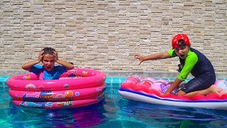 Камиль НЕ ХОЧЕТ ДЕЛИТЬСЯ! Что ПРОИЗОШЛО в Бассейне? What happened in the pool?
