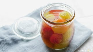 カラフル トマトの ピクルス のレシピ 作り方