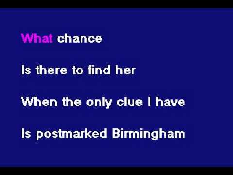 SD044 12   Blackhawk   Postmarked Birmingham Karake