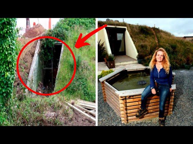On s\'est Moqué d\'elle Lorsqu'elle a acheté ce Bunker Jusqu\'à ce qu'on Voit cette Incroyable Maison