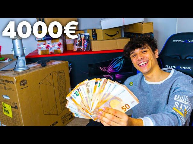 UNBOXING da 4000€ della mia POSTAZIONE da GAMING!!!