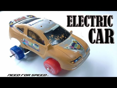 How To Make A Mini Electric Car Powerd By A Usb Cable | Homemade Electric Car Tutorial