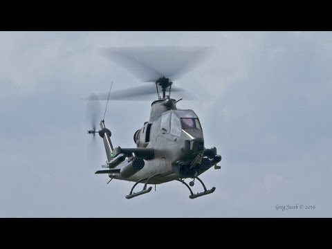 Bell AH-1 Cobra Takeoff And Landing In 5.1 Surround Sound (4K)