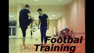 "Моя ""бомбезная"" тренировка по футболу(фристайлу) / Football training"
