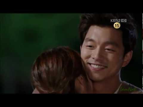빅 Big Drama - Cute Hug scene - ep 13 (Gong Yoo & Lee Min Jung)