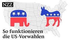Das US-Wahlsystem: Wie funktionieren die Vorwahlen? | NZZ