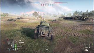 BattleField5の新MAP、[PanzerStorm]を連合軍の偵察車両、スタッグハウ...