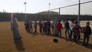 فعاليات اليوم المفتوح وفقرة من فقرات المسابقات الرياضية لابتدائية الرواد بريدة