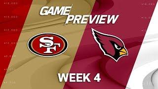 San Francisco 49ers vs. Arizona Cardinals | Week 4 Game Preview | NFL