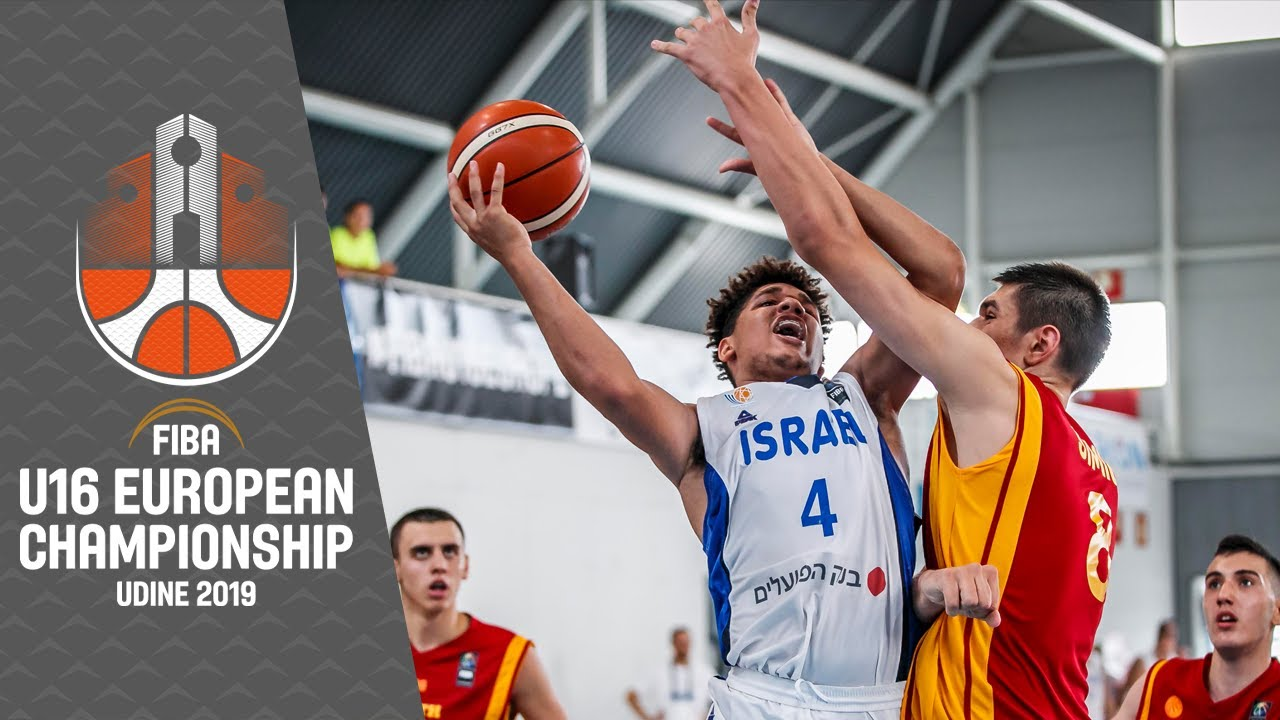 Israel v North Macedonia - Full Game - FIBA U16 European Championship 2019