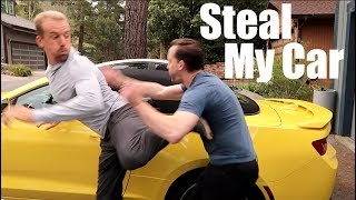 CAR THEFT | WIN THE STREET FIGHT w/ THIS MOVE!