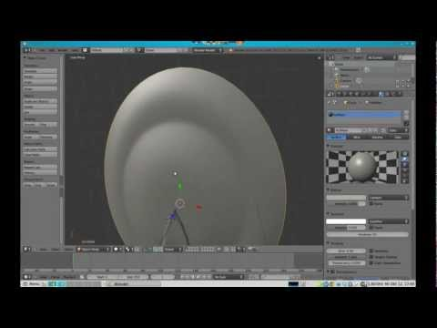 Large blender 2 5 tutorial star trek based spaceship for Wohnung star trek design