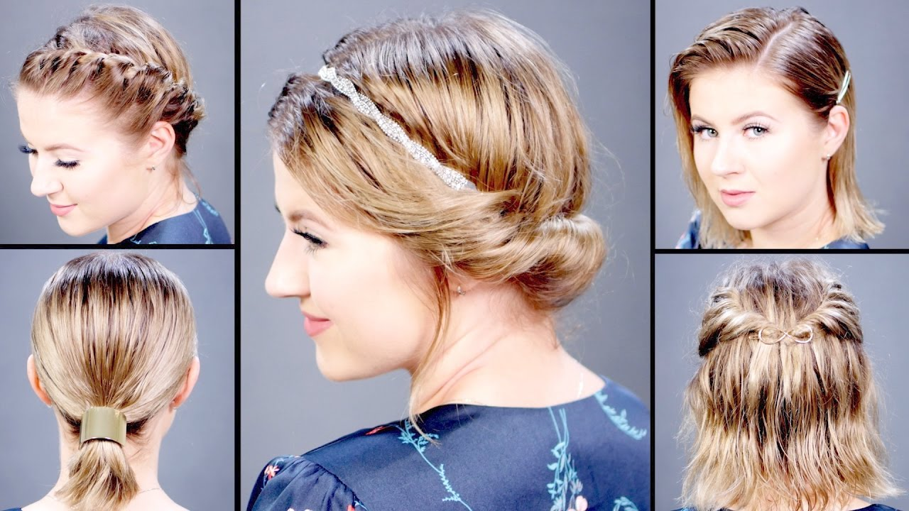 5 hairstyles for wet hair | milabu