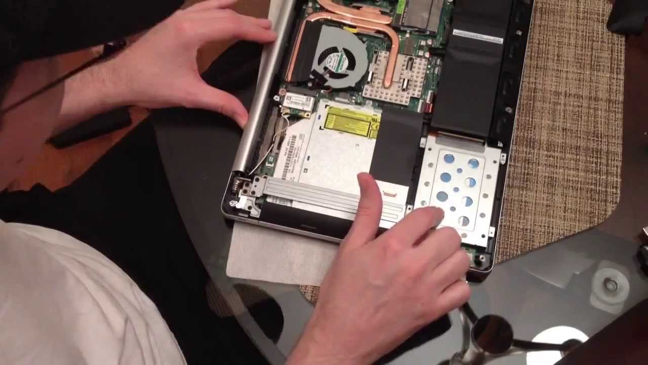 Replacing The Hard Drive In Asus N550jv Db71 Laptop With A