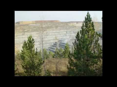 Achinsk Bauxite Mine, Alumina Refinery, Russia siberia former USSR