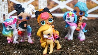 LOL SURPRISE DOLLS Go On A Pony Ride And Deal With Drama From Tammy