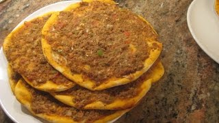 How To Make Lahmacun/turkish Pizza (great Recipe For Ramadan)