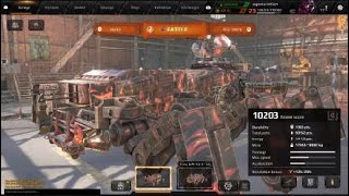 Crossout: How to build a 10,000 power score build (Cyclone and tacklers.