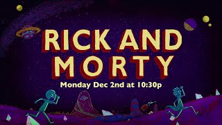 Rick and Morty Season 1 extended promo