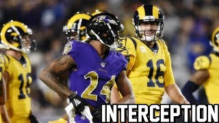 Marcus Peters Interception Against Former Team! MNF︱HD