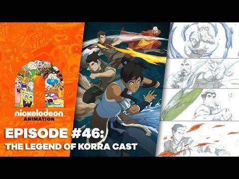 Episode 46: The Legend of Korra Cast | Nick Animation Podcast
