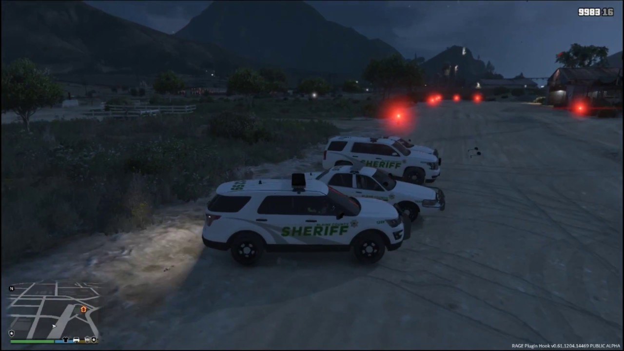 LSPDFR feat  New BCSO Vehicle Pack by Aidan G  - Video - ViLOOK