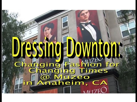 Dressing Downton: Changing Fashion for Changing Times |  DOWNTON ABBEY