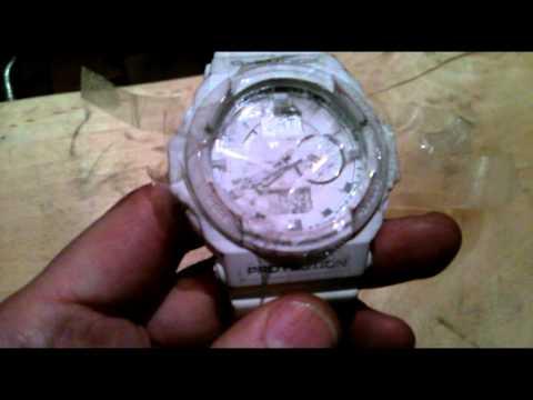Как покрасить часы своими руками :)