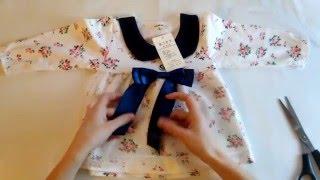 Нарядное детское платье с длинным рукавом(, 2016-02-03T12:52:27.000Z)