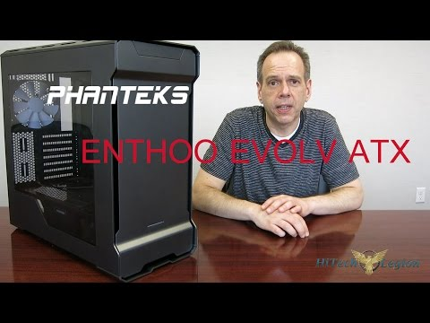 Phanteks EVOLV ATX Review and How to Install Components