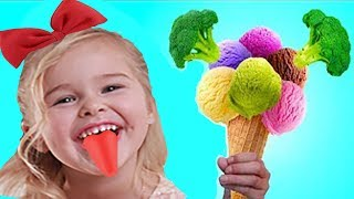 Do You Like Broccoli Ice Cream Song - Nursery Rhymes by Sweet Emily