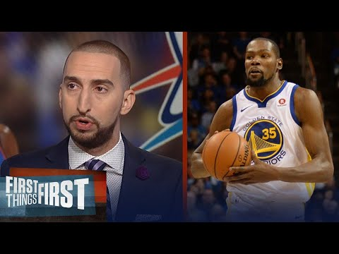 Nick Wright is still trying to figure out what is going on with Kevin Durant | FIRST THINGS FIRST