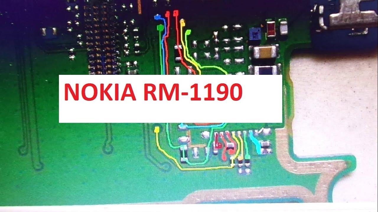 Nokia 150 RM-1190 Display way (2019)
