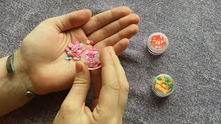 Miniature Faux Candy Haul from HappyKawaiiSupplies on Etsy!  UNCONVENTIONAL BJD PROPS