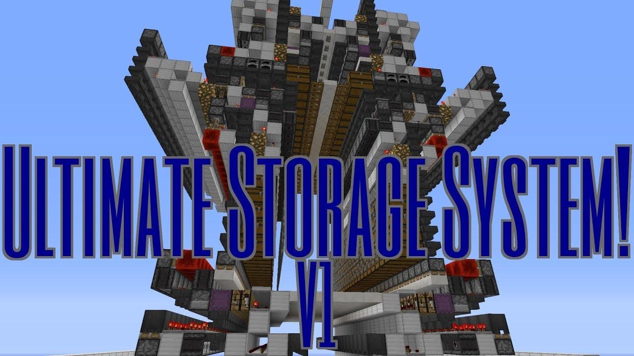 Superbe Ultimate Storage System! V1  1.12 1.11 Vanilla Survival