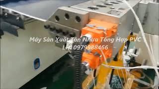 Bán máy cán tôn nhựa/ tôn nhựa 4 lớp/ máy cán tôn nhựa tổng hợp