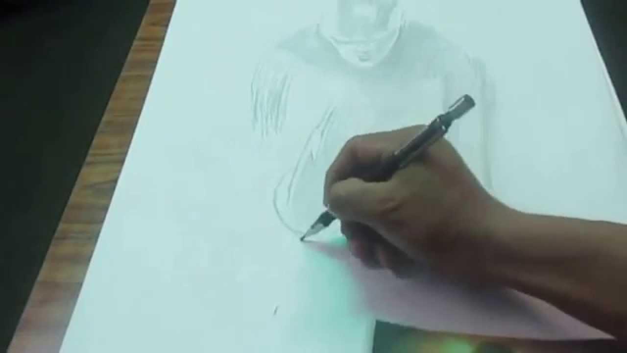 Dibujo A Lápiz Flash