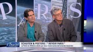 """François Schuiten & Benoit Peeters : """"Paris n'est pas une cité obscure"""""""