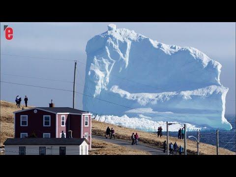 Un iceberg de la taille de la statue de la Liberté dérive vers le Canada