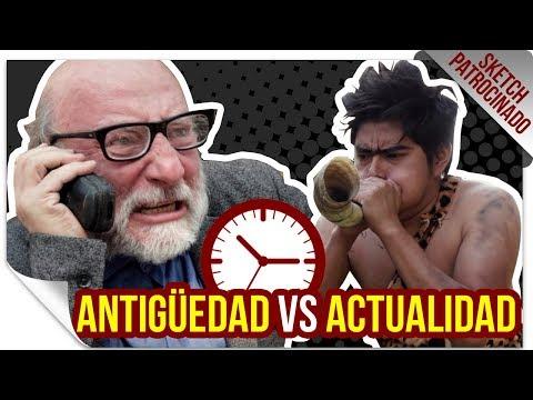 Cosas a Través del Tiempo | PATROCINADO | QueParió! ft. MarcianoTech