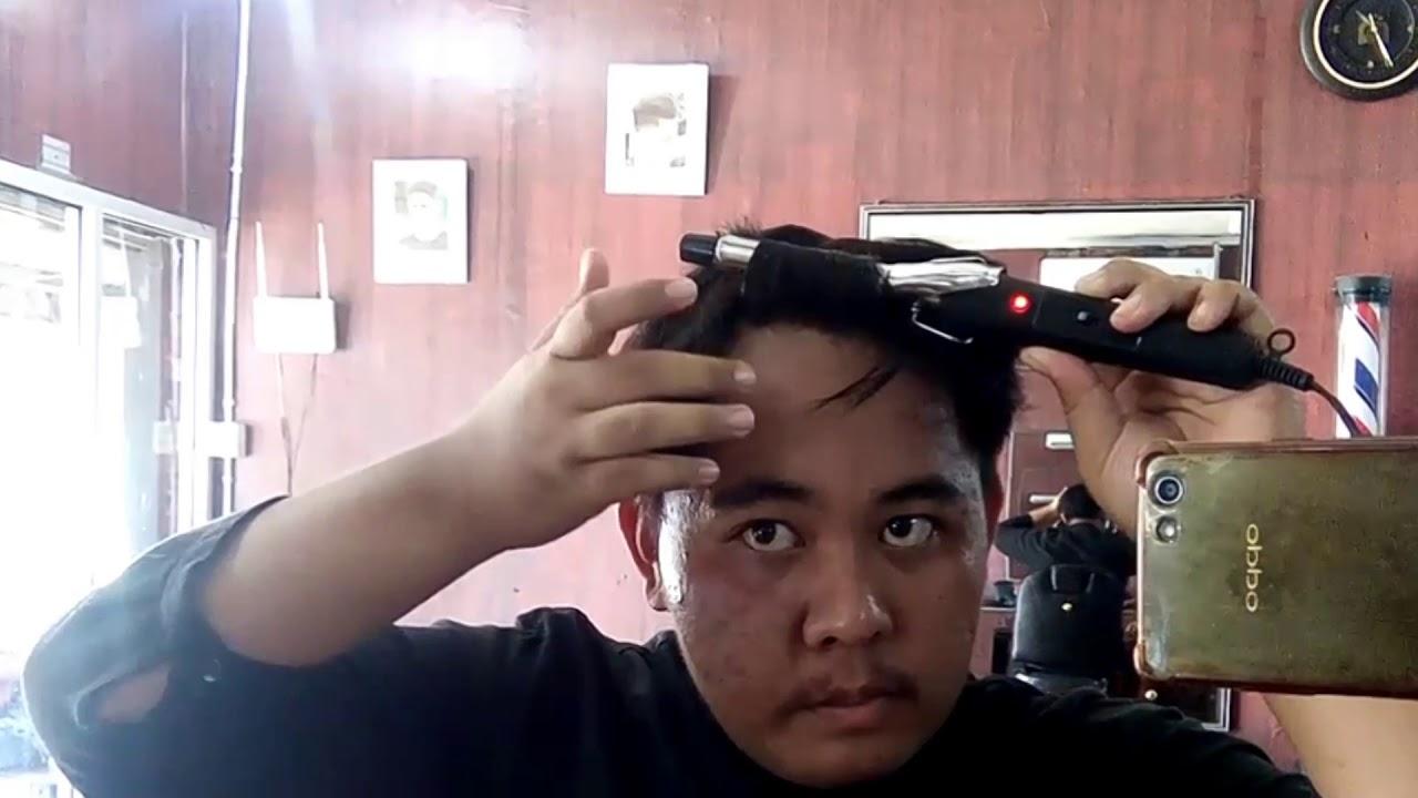 Cara Membuat Rambut Ikal Pria Style Rambut Bergelombang Pria Youtube