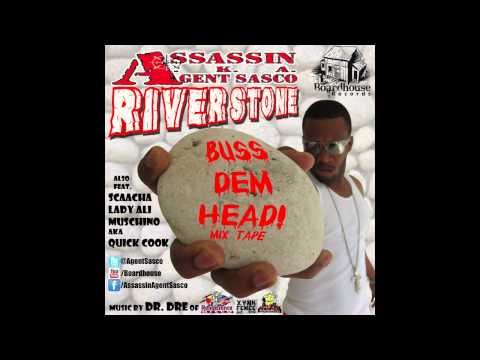 Assassin aka Agent Sasco River Stone Buss Dem Head Mix Tape 2012 - Boardhouse Records