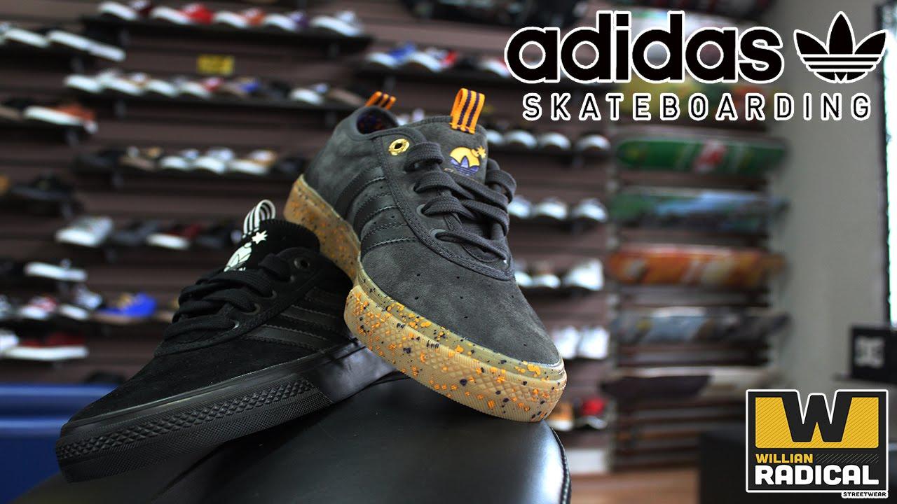 Tênis Adidas Adi Ease ADV The Hundreds - Willian Radical - YouTube 56377e7c60755