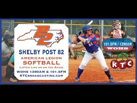 Shelby Post 82 Vs Davidson Post 8 - American Legion Softball