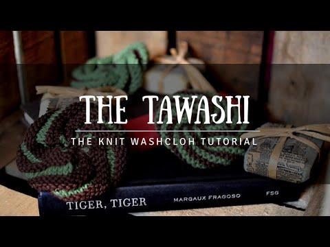 Learn To Knit Tawashi Spiral Scrubbie Sponge Tutorial YouTube Fascinating Crochet Spiral Scrubbies Pattern