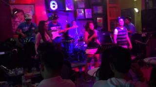Invasion Band at 22nd Street Cebu part 2 (Rockstreet) Better Days, Total Eclipse and The Flame.