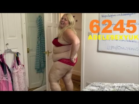 Download BBW ADELESEXYUK GOING TO HANG HER WASHING OUT 6245