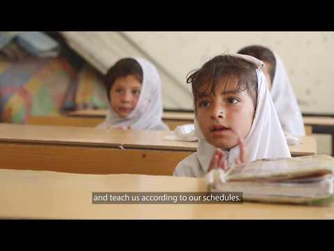 Improved Schools Increase Girls' Education Enrollment in Afghanistan