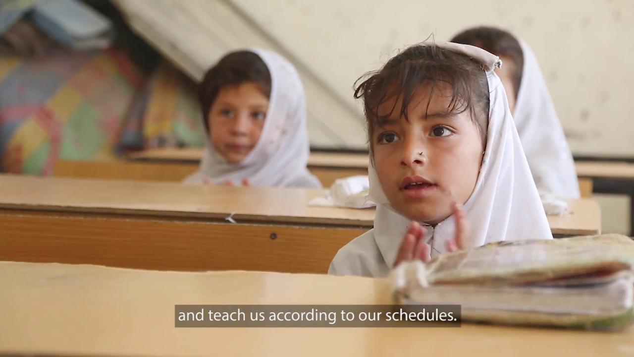 Improved Schools Increase Girls' Education Enrollment in Afghanistan